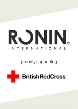 RONIN International become a Major Donor to the British Red Cross